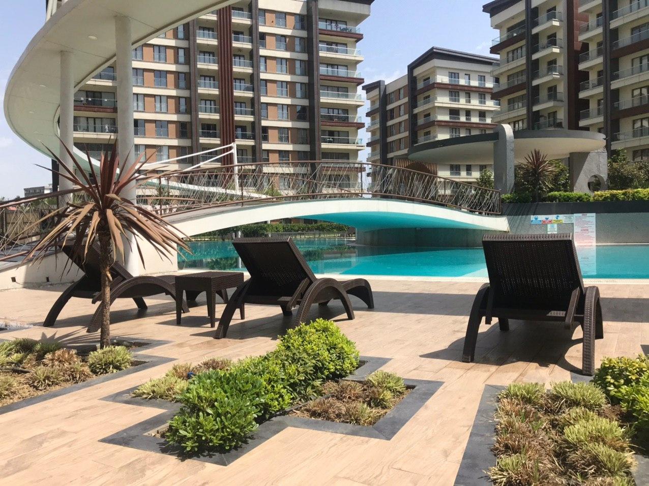 Апартаменты в жилом комплексе Стамбула - Фото 21