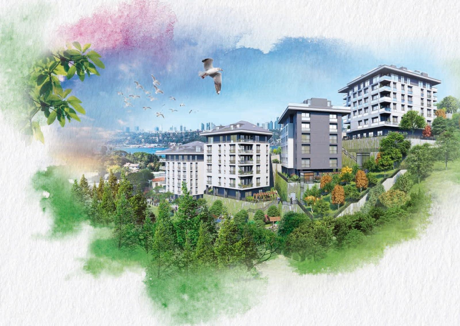Новый комплекс в районе Ускюдар Стамбул - Фото 17