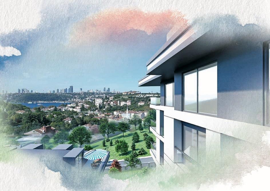 Новый комплекс в районе Ускюдар Стамбул - Фото 19