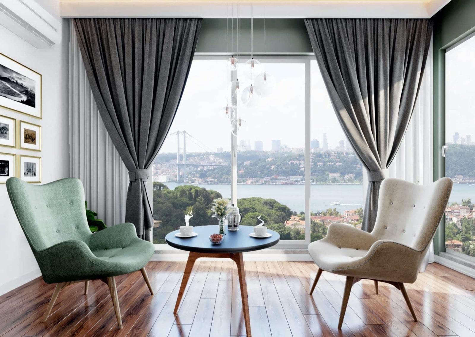 Новый комплекс в районе Ускюдар Стамбул - Фото 24