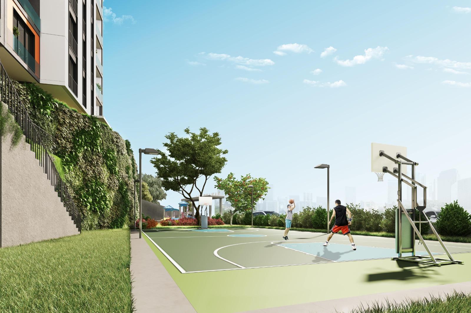 Новый комплекс в районе Эюп Стамбул - Фото 19