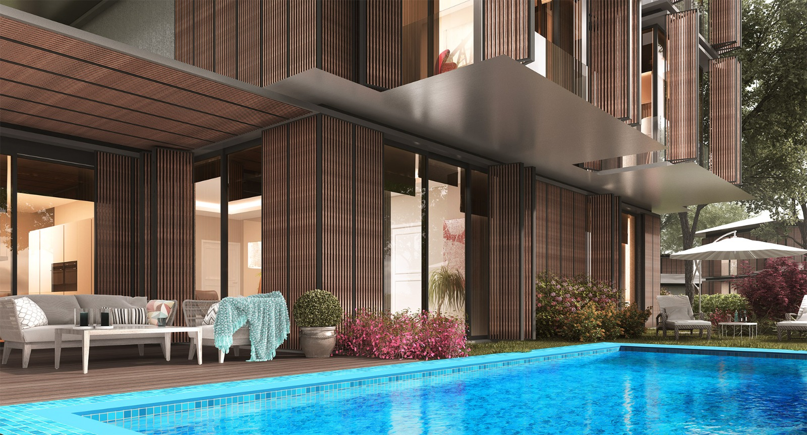 Эксклюзивный проект-комплекс вилл в Бейкоз - Фото 37