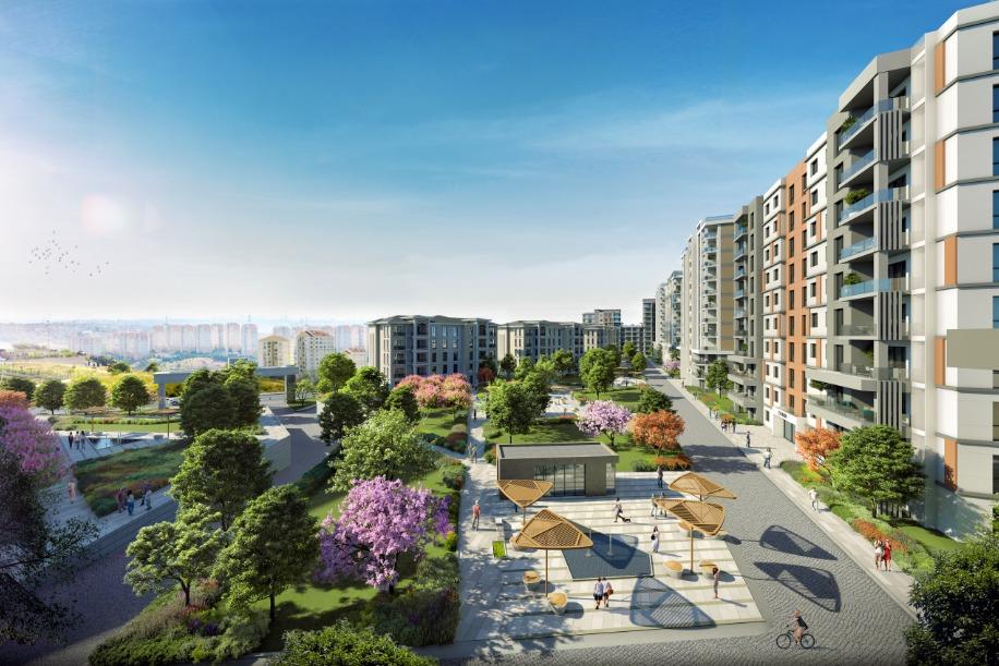 Новый комплекс в районе Башакшехир - Фото 1