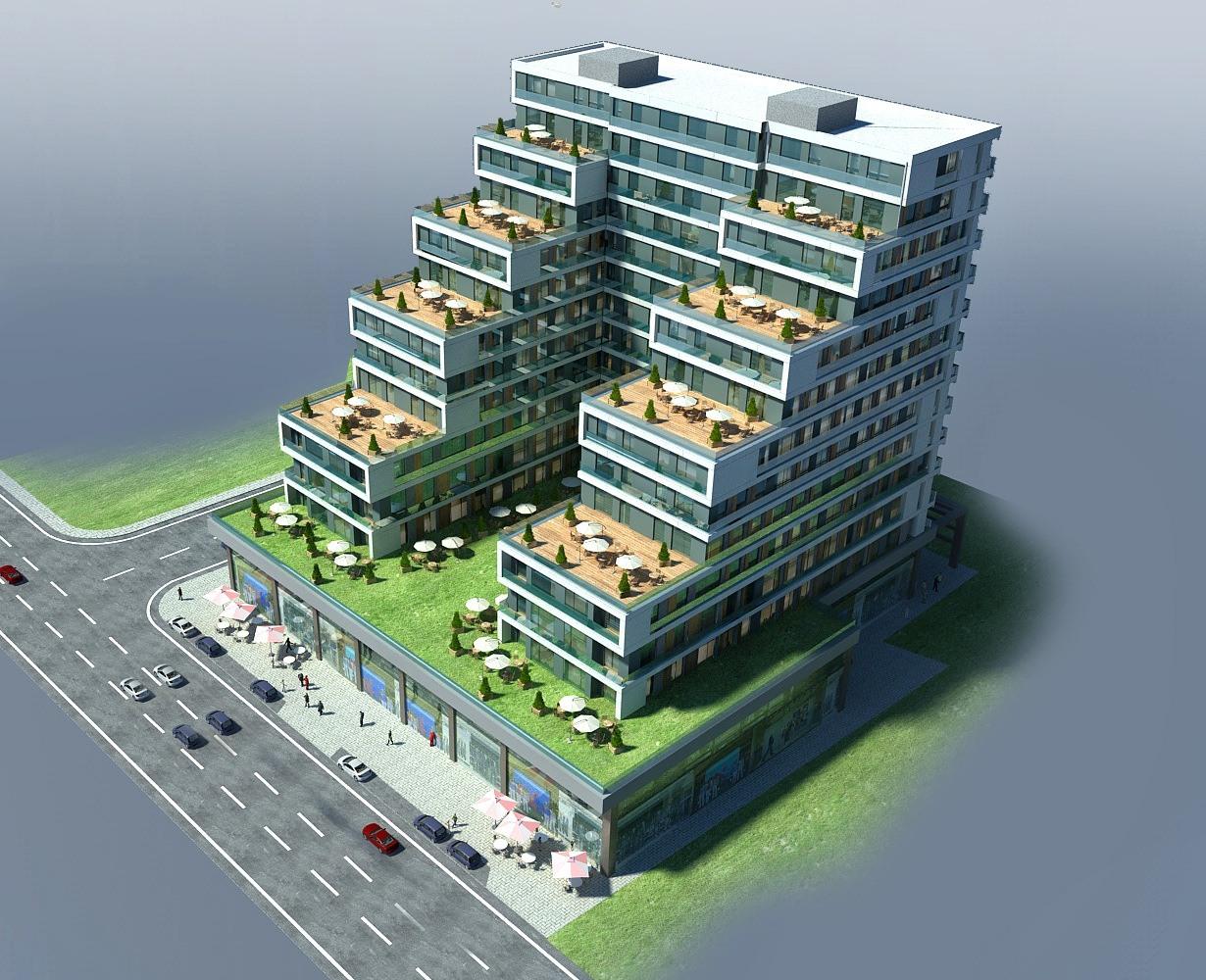 Квартиры планировкой 1+1 и 2+1 в районе Эсеньюрт - Фото 4