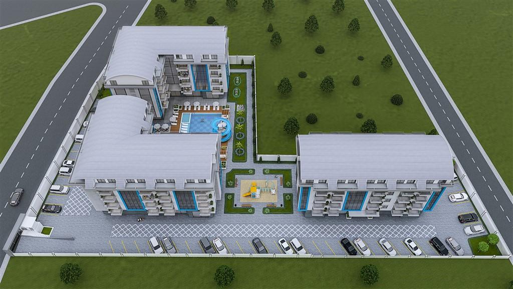 Квартиры и пентхаусы на стадии строительства в Оба - Фото 1