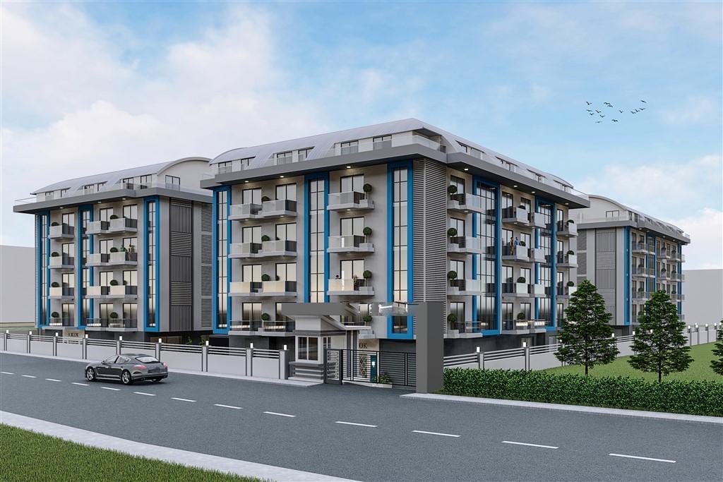 Квартиры и пентхаусы на стадии строительства в Оба - Фото 2