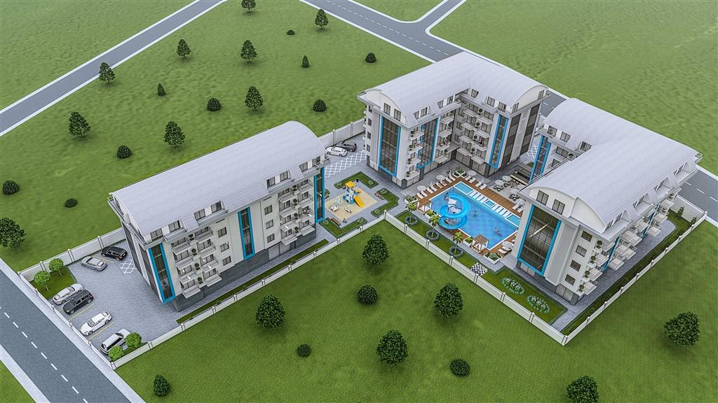 Квартиры и пентхаусы на стадии строительства в Оба - Фото 4