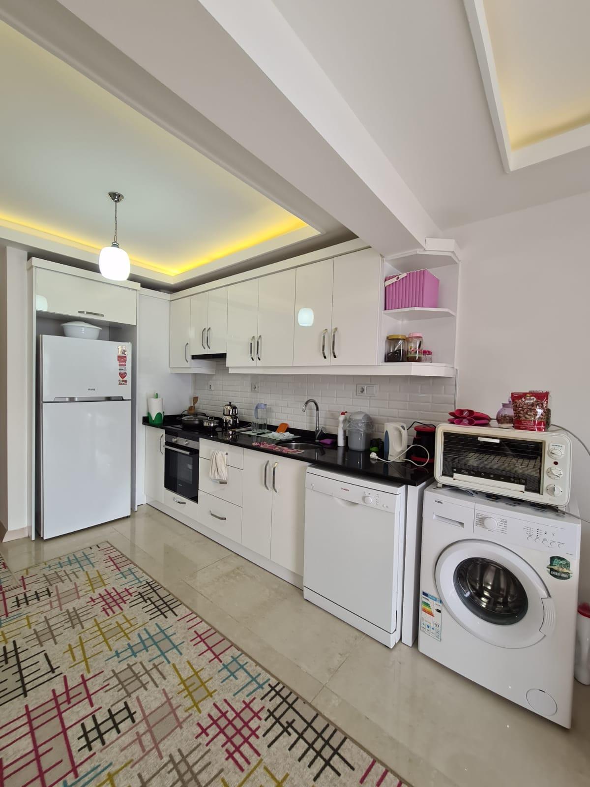 Меблированная квартира 2+1 у моря в Махмутларе - Фото 7