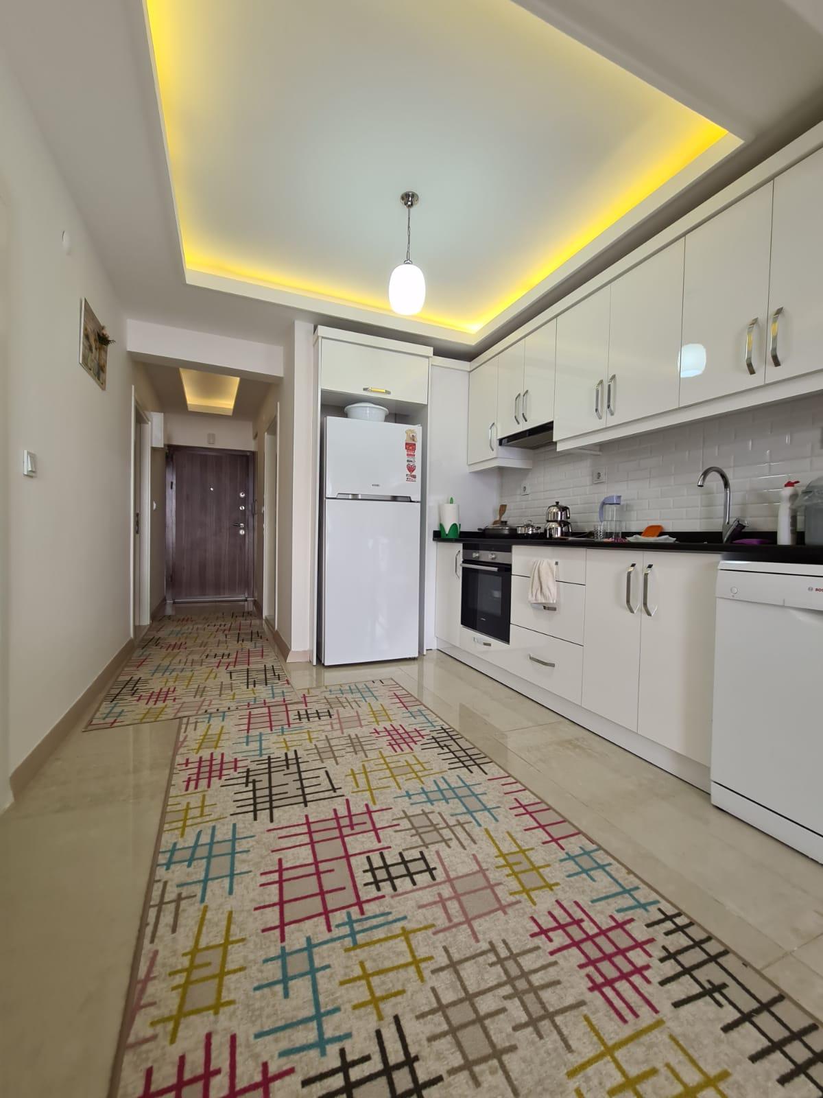 Меблированная квартира 2+1 у моря в Махмутларе - Фото 9