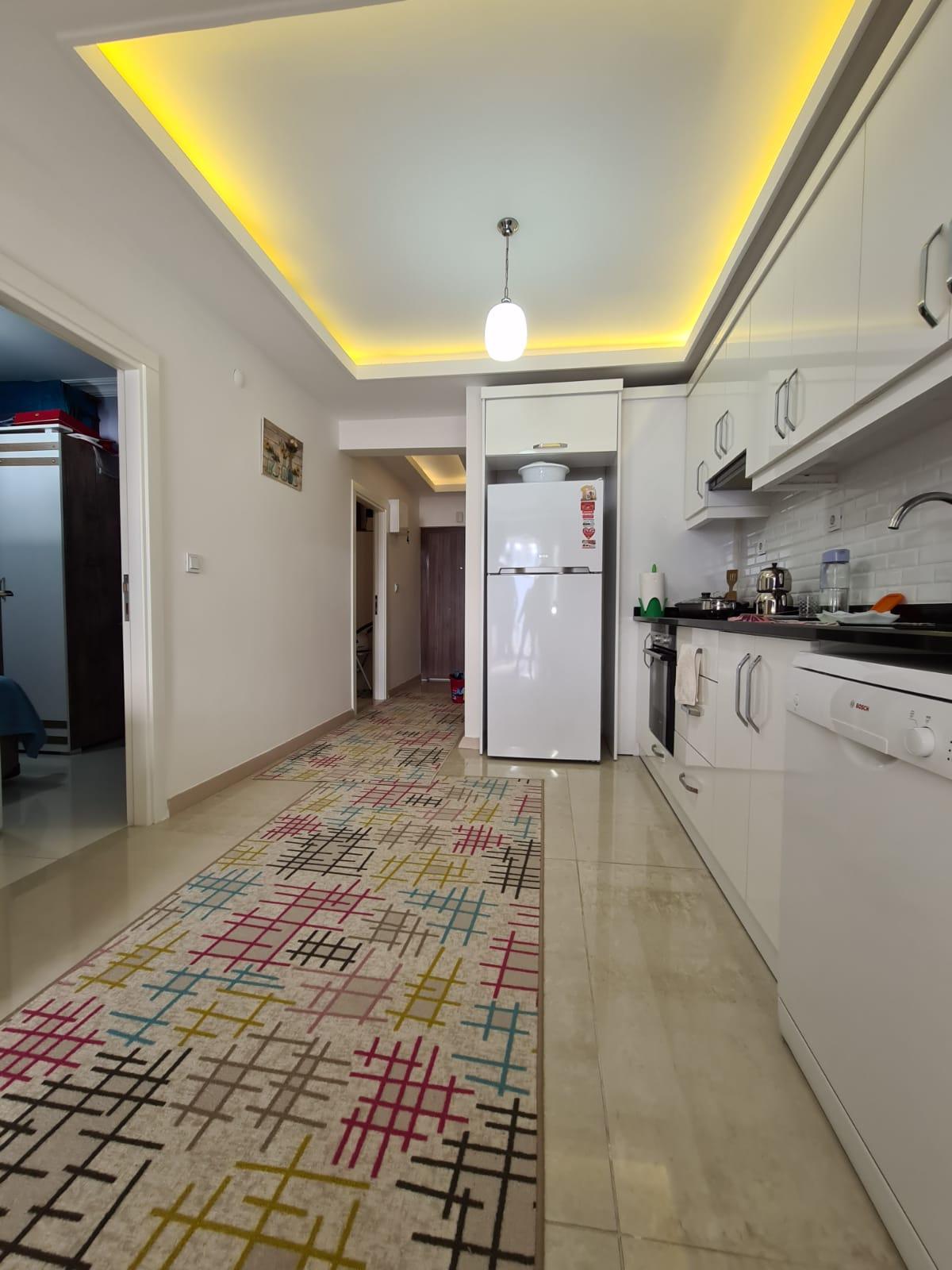 Меблированная квартира 2+1 у моря в Махмутларе - Фото 11