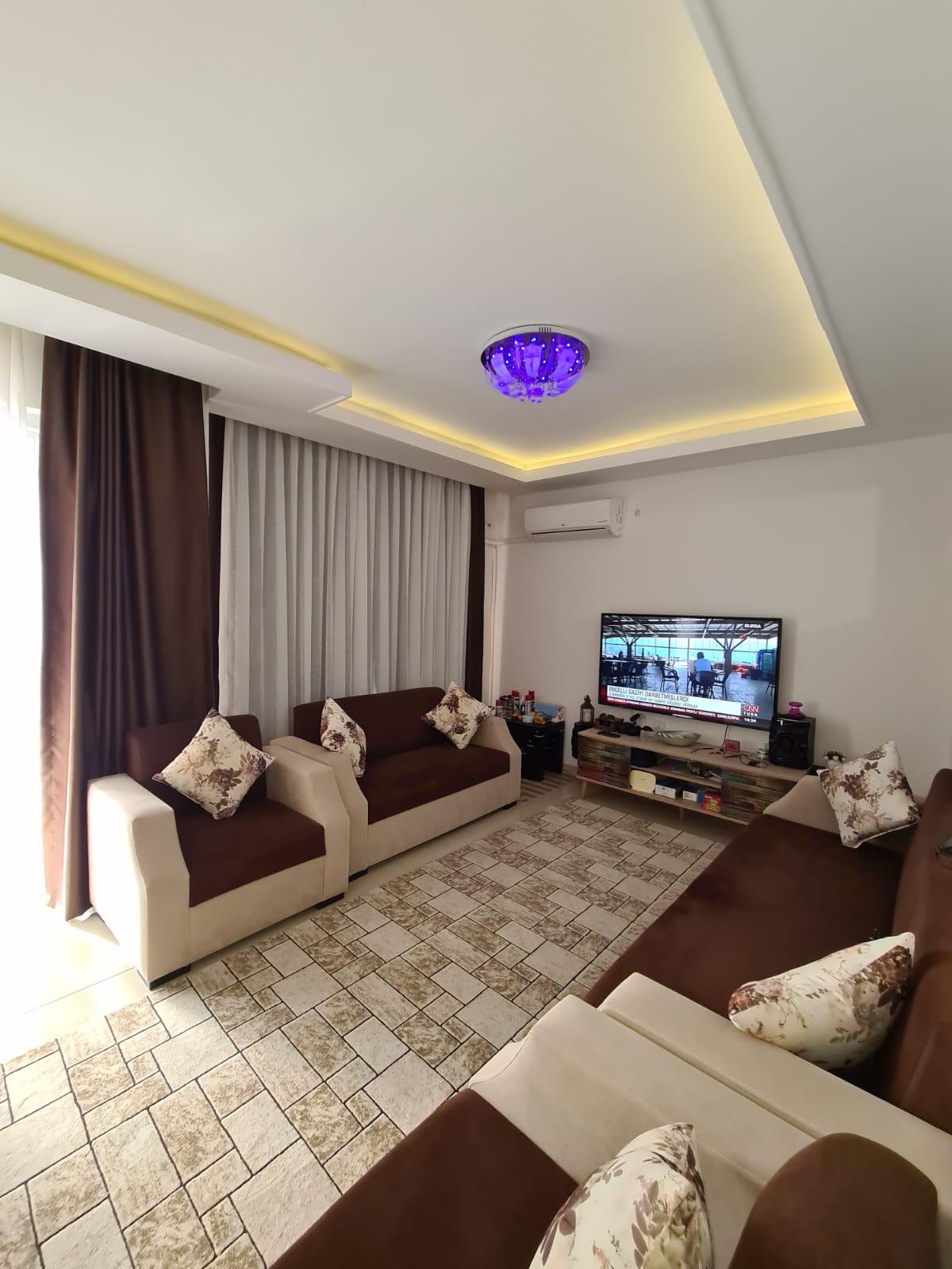 Меблированная квартира 2+1 у моря в Махмутларе - Фото 14