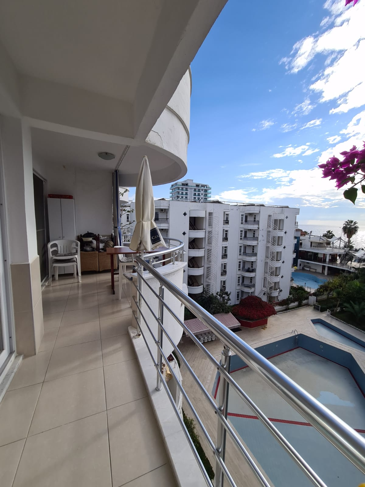 Меблированная квартира 2+1 у моря в Махмутларе - Фото 15