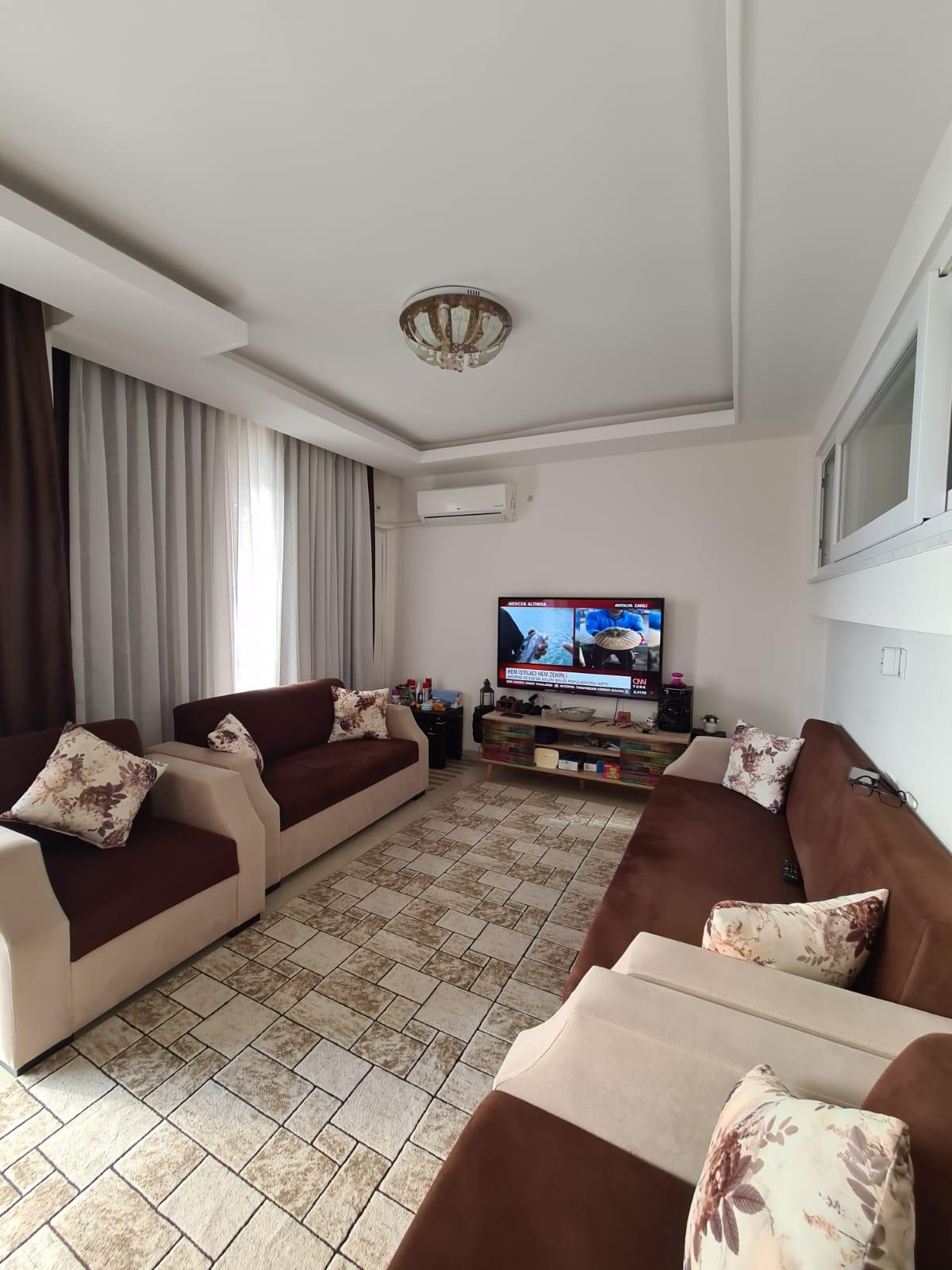 Меблированная квартира 2+1 у моря в Махмутларе - Фото 21
