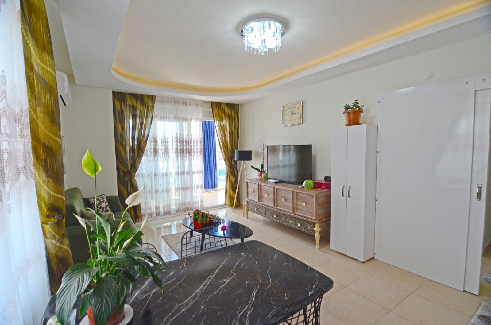 Меблированные апартаменты 1+1 в  Махмутлара - Фото 15