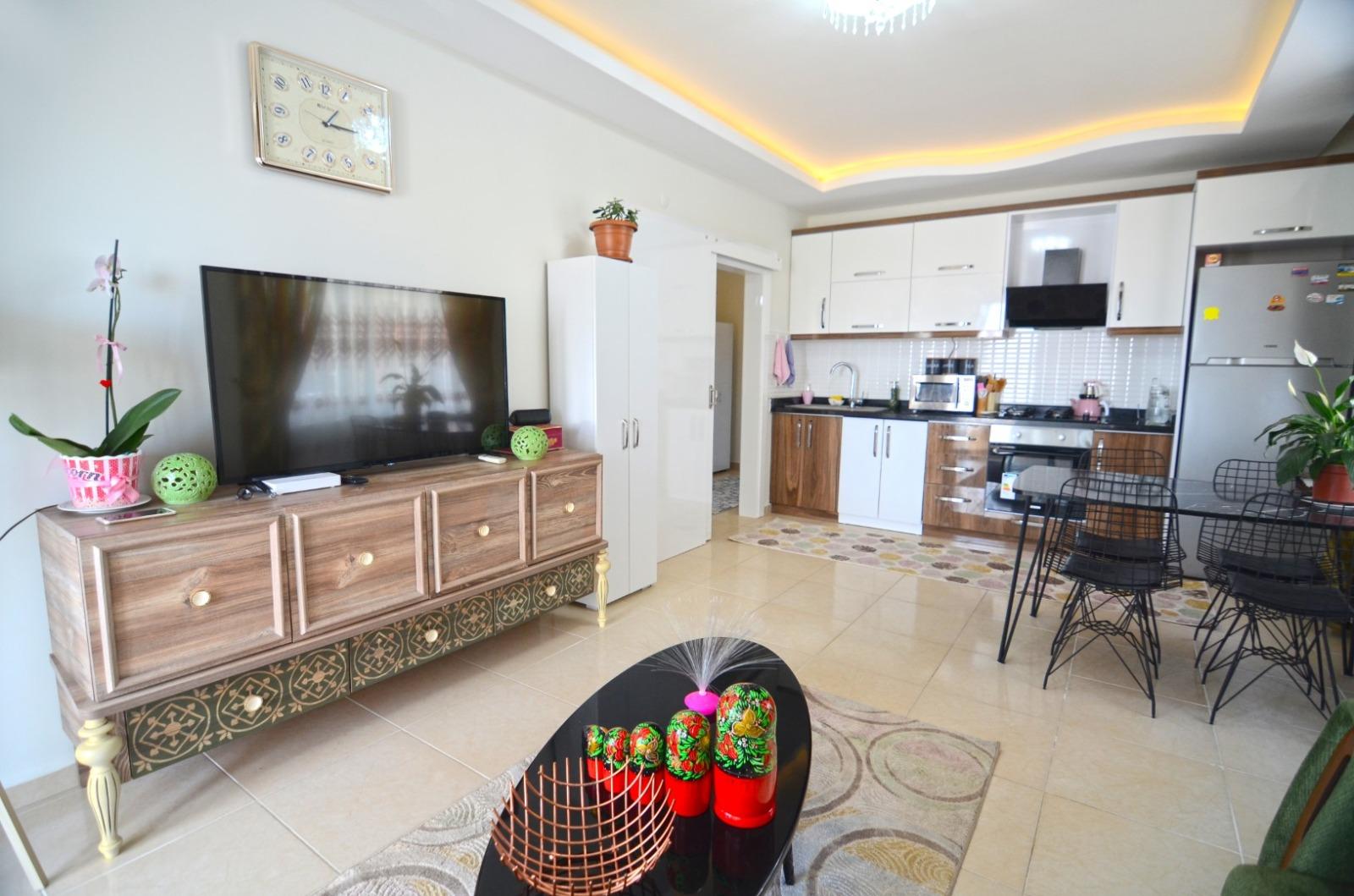 Меблированные апартаменты 1+1 в  Махмутлара - Фото 22