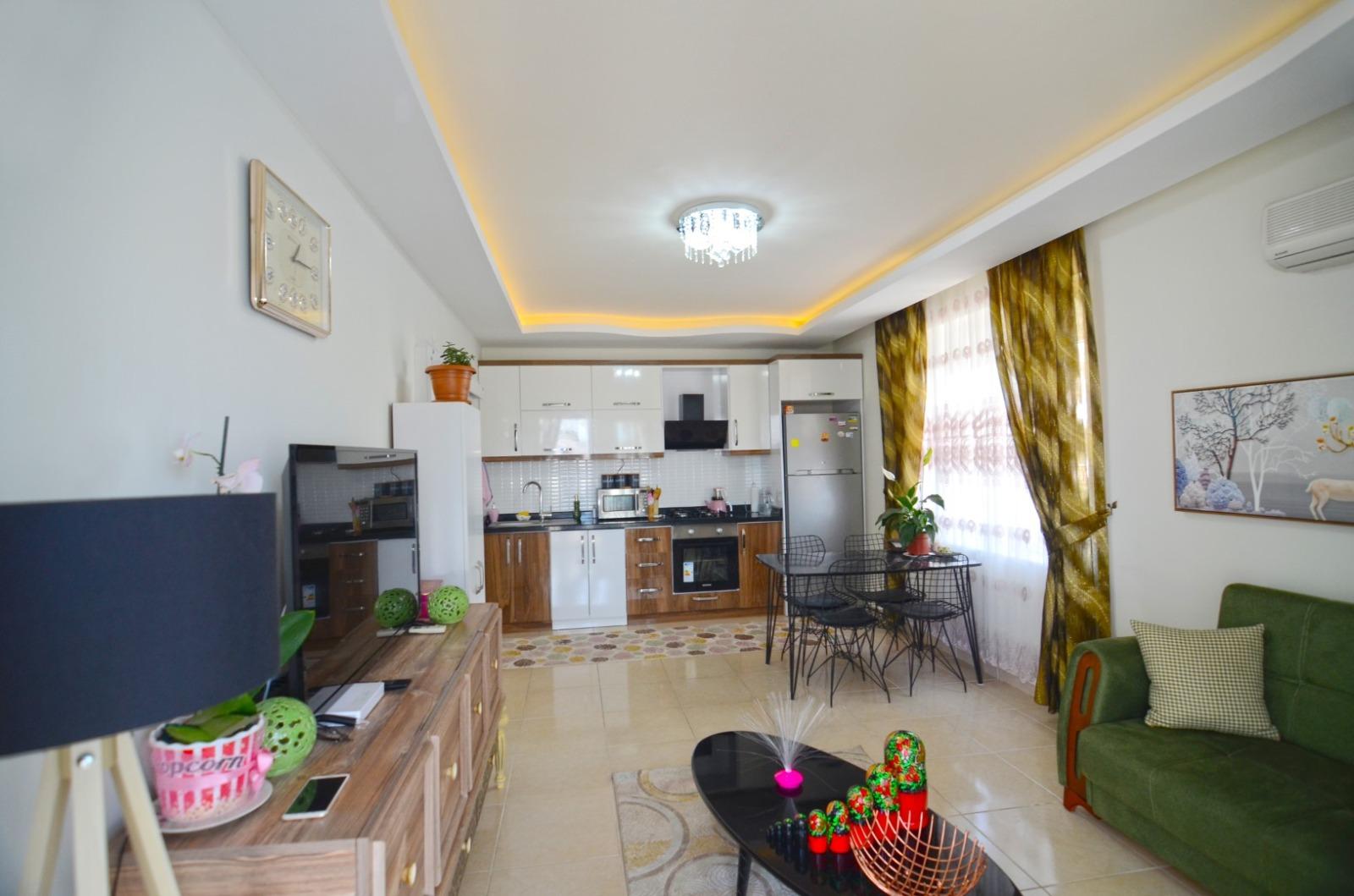 Меблированные апартаменты 1+1 в  Махмутлара - Фото 2