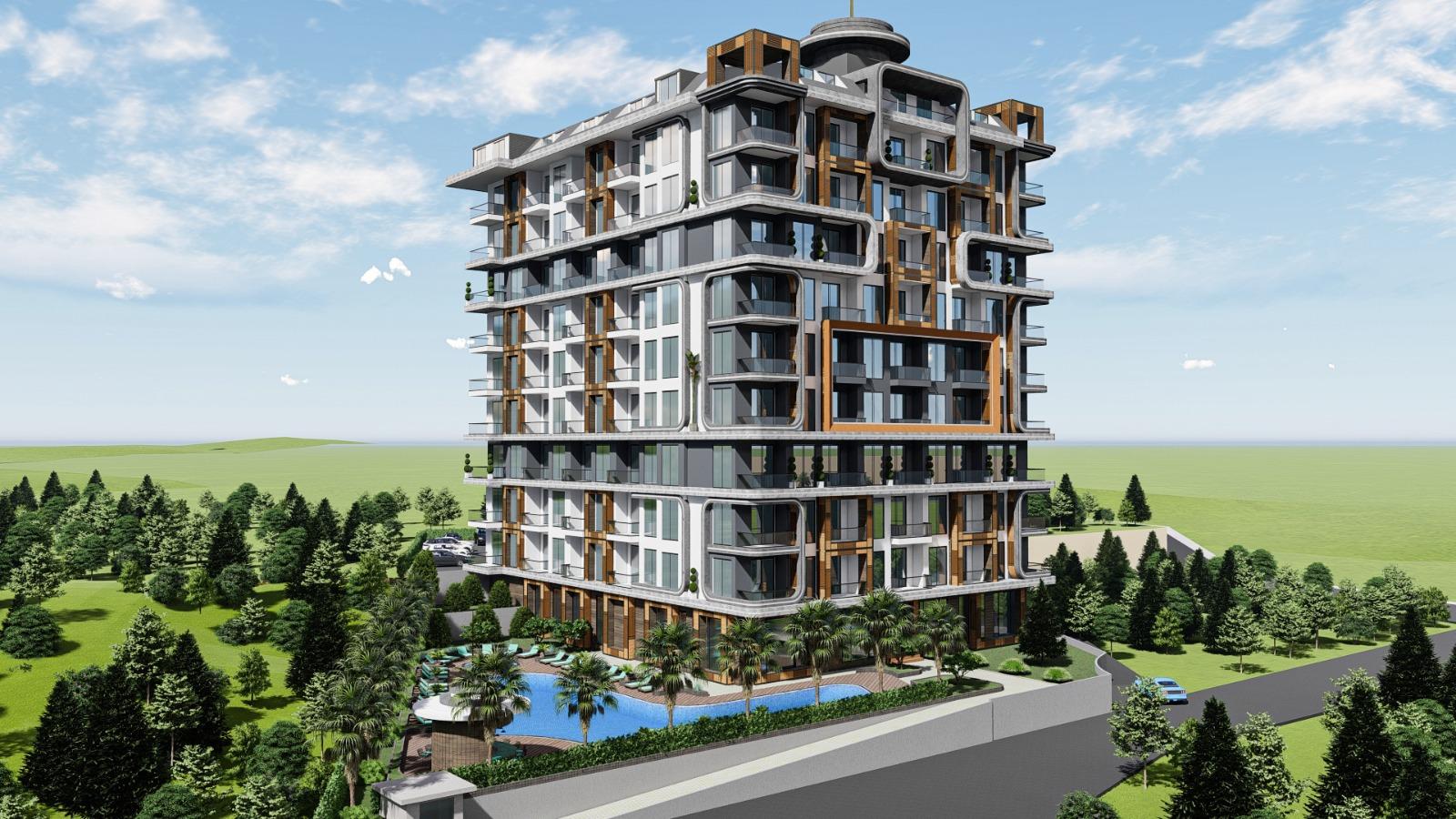 Новые апартаменты в рассрочку в районе Тосмур
