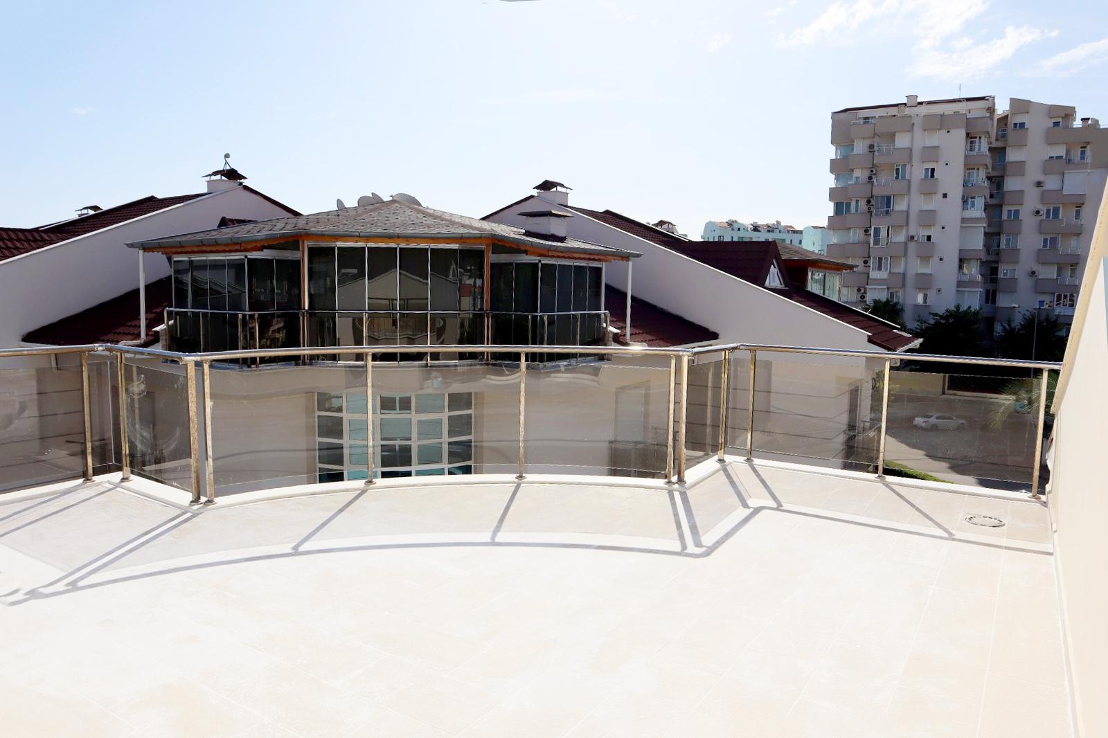 Пентхаус 4+1 в 200 м от пляжей Коньяалты Анталия - Фото 14