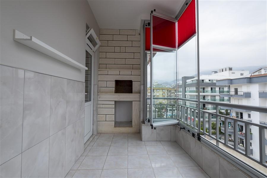 Трёхкомнатная меблированная квартира в районе Оба - Фото 15