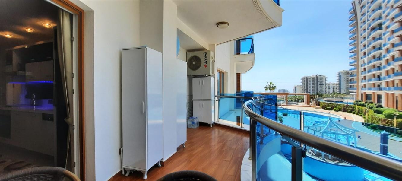 Меблированная квартира 1+1 в жилом комплексе с инфраструктурой отельного типа. - Фото 25