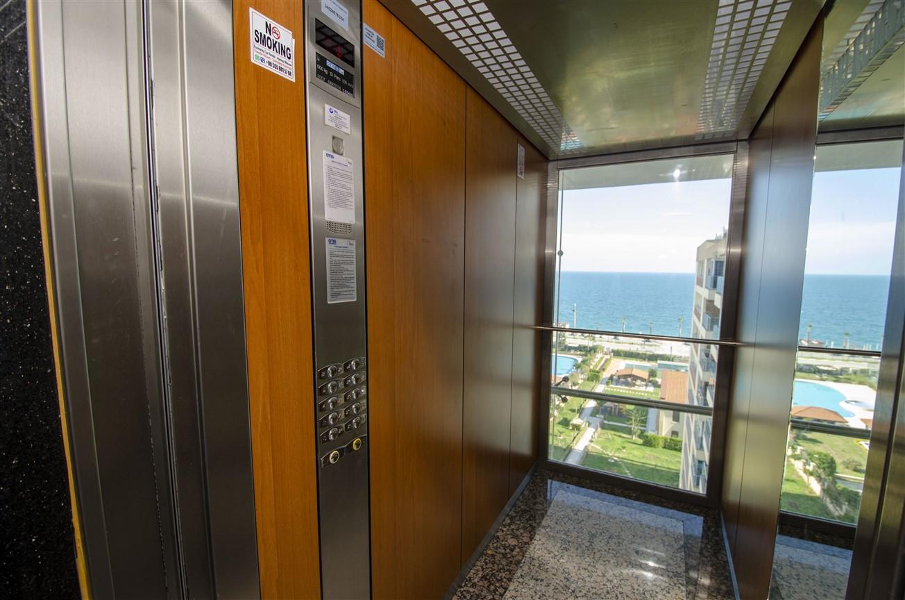 Просторная четырехкомнатная квартира у моря в микрорайоне Лиман- Анталья - Фото 21