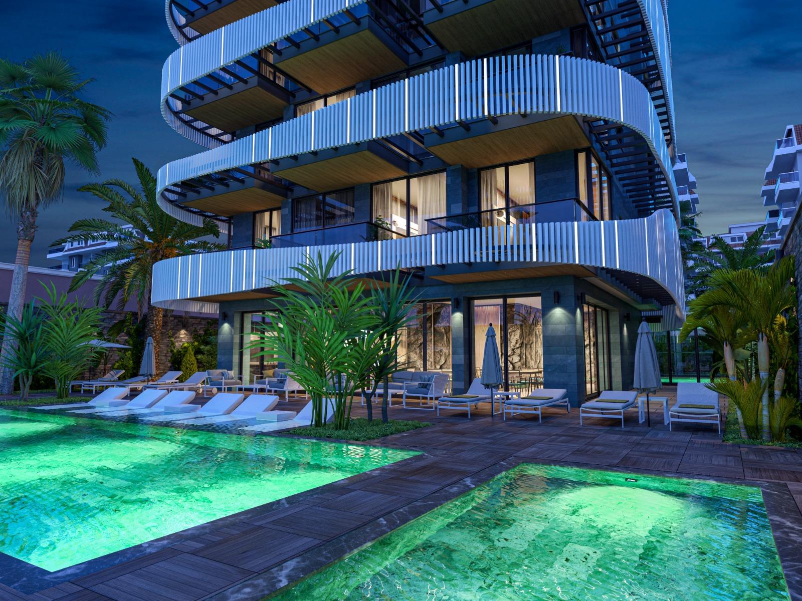 Роскошные квартиры с видом на Средиземное море в элитном районе - Фото 19