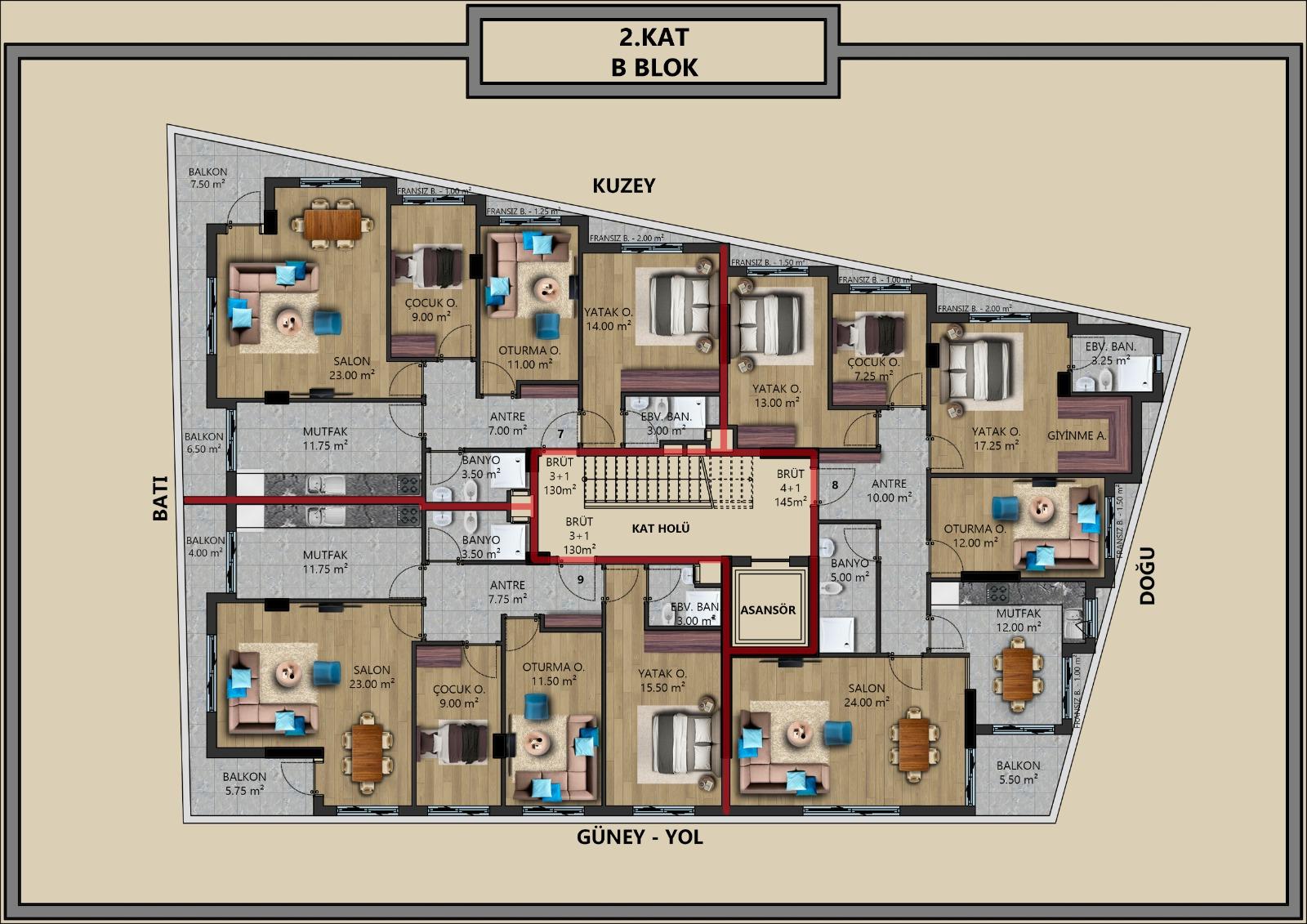 Квартиры от застройщика в центральном районе Антальи - Фото 11