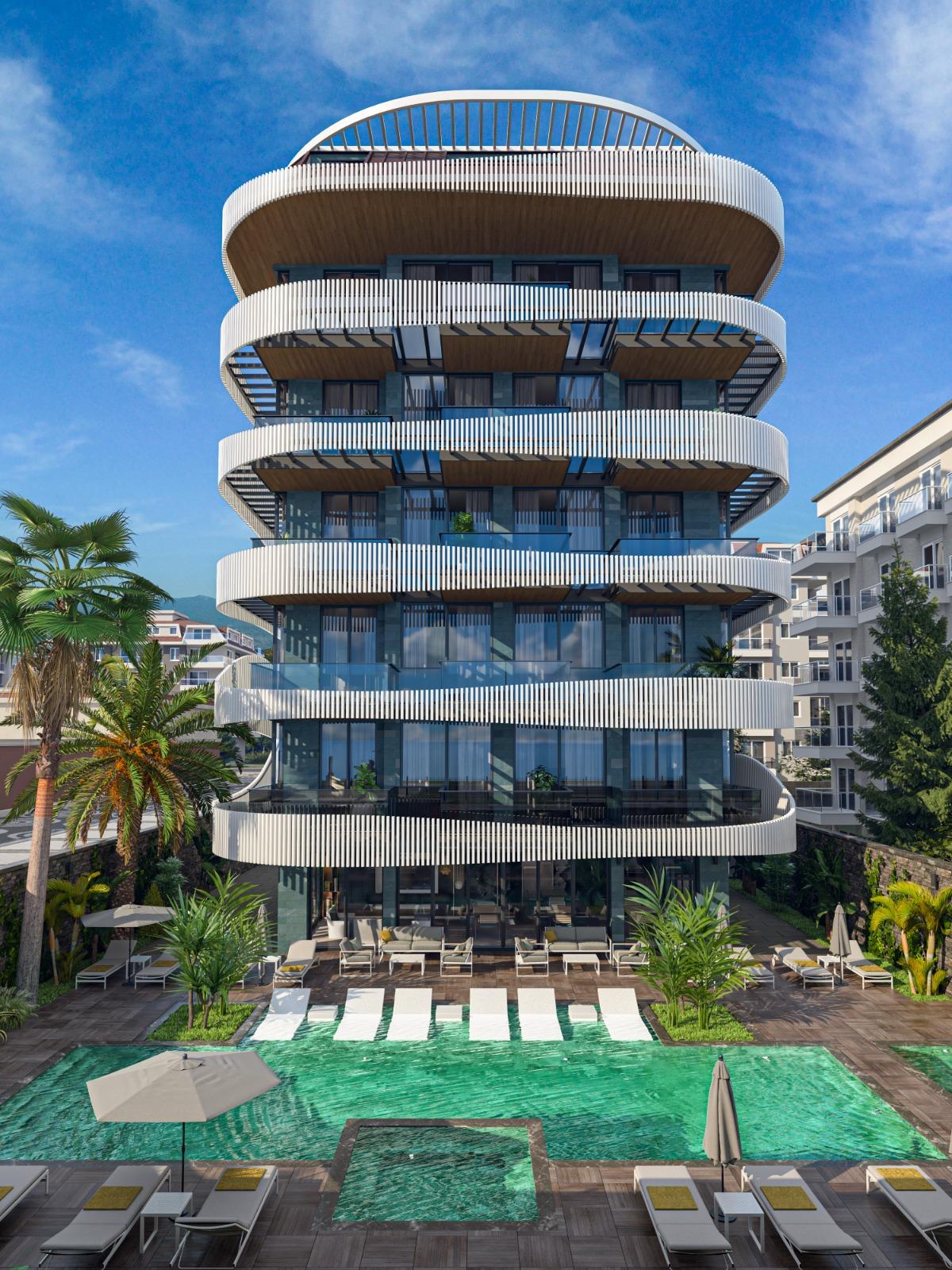Роскошные квартиры с видом на Средиземное море в элитном районе - Фото 8