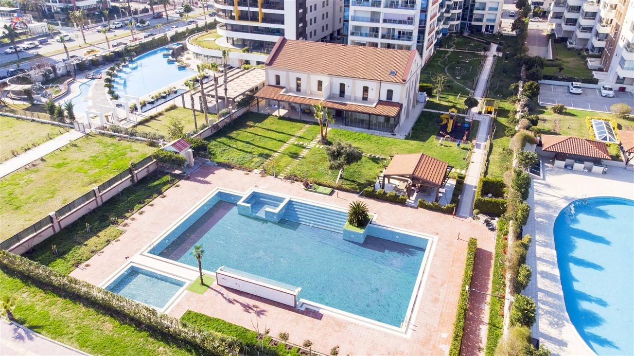 Просторная четырехкомнатная квартира у моря в микрорайоне Лиман- Анталья - Фото 3