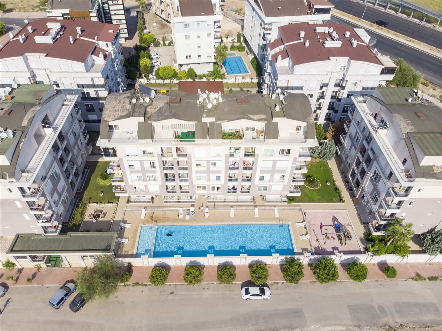 Двухкомнатная квартира в районе Коньяалты - Фото 1