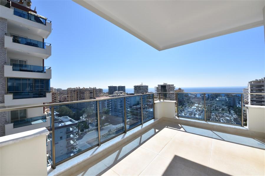 Меблированная квартира 2+1 с видом на Средиземное море. - Фото 35