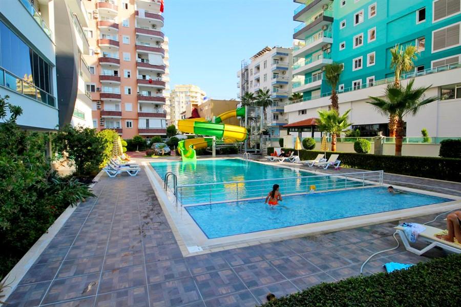 Меблированная квартира 1+1 в центре района Махмутлар - Фото 2