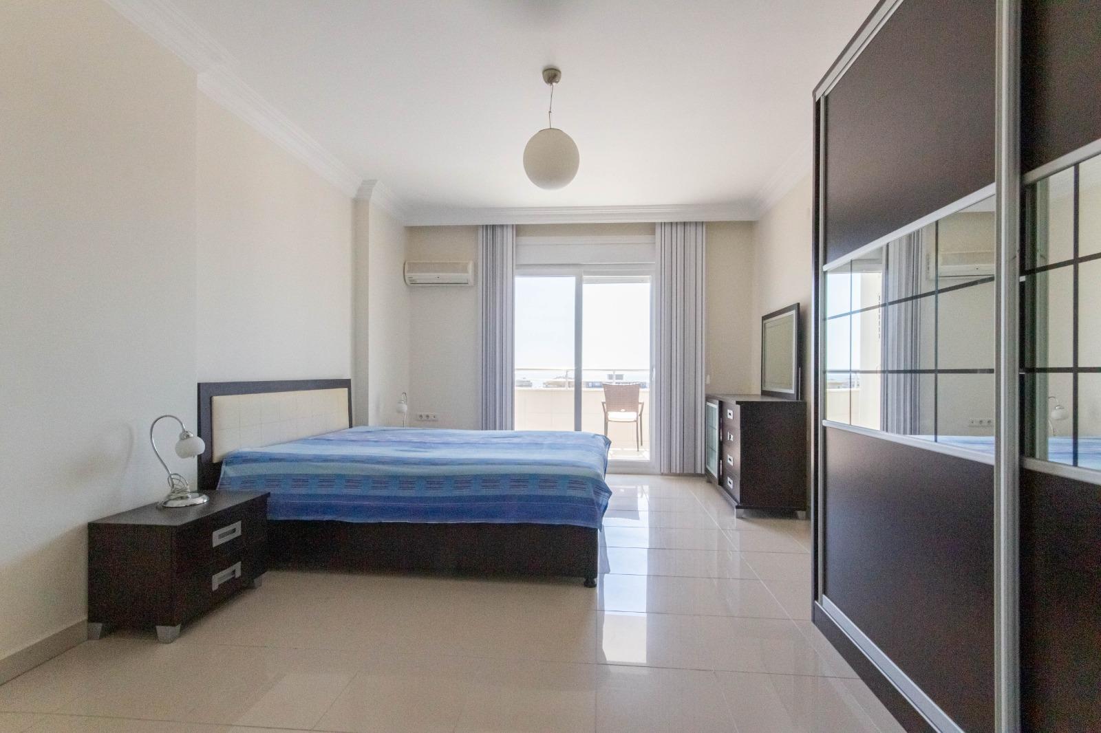 Меблированная квартира 2+1 с видом на море. - Фото 26