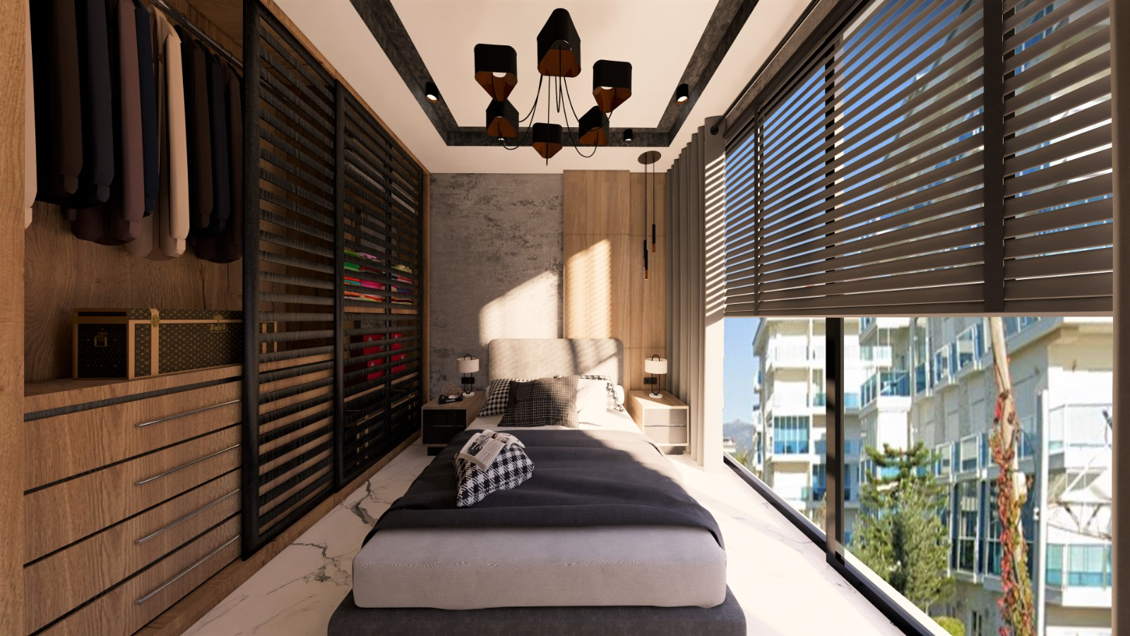 Роскошные квартиры с видом на Средиземное море в элитном районе - Фото 30