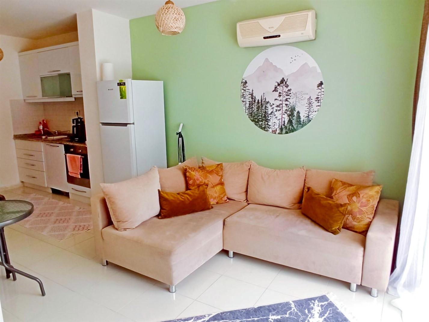 Двухкомнатная квартира в районе Коньяалты - Фото 16