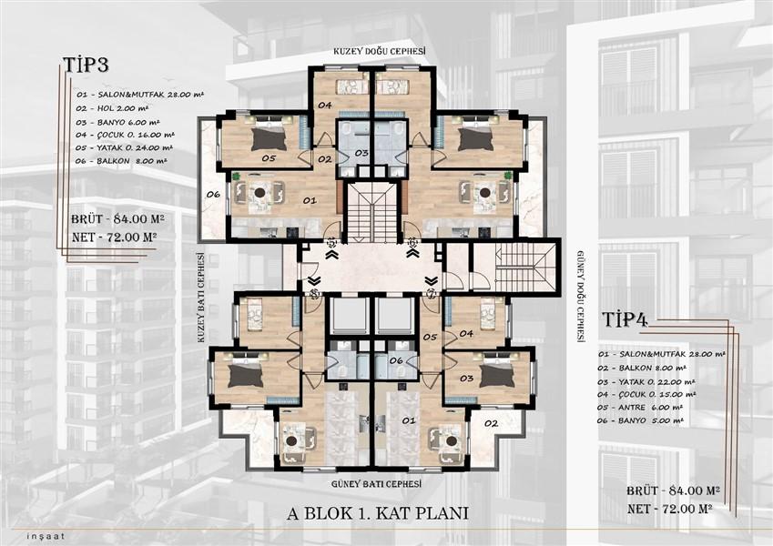 Новый инвестиционный проект элитной недвижимости в посёлке Авсаллар. - Фото 34