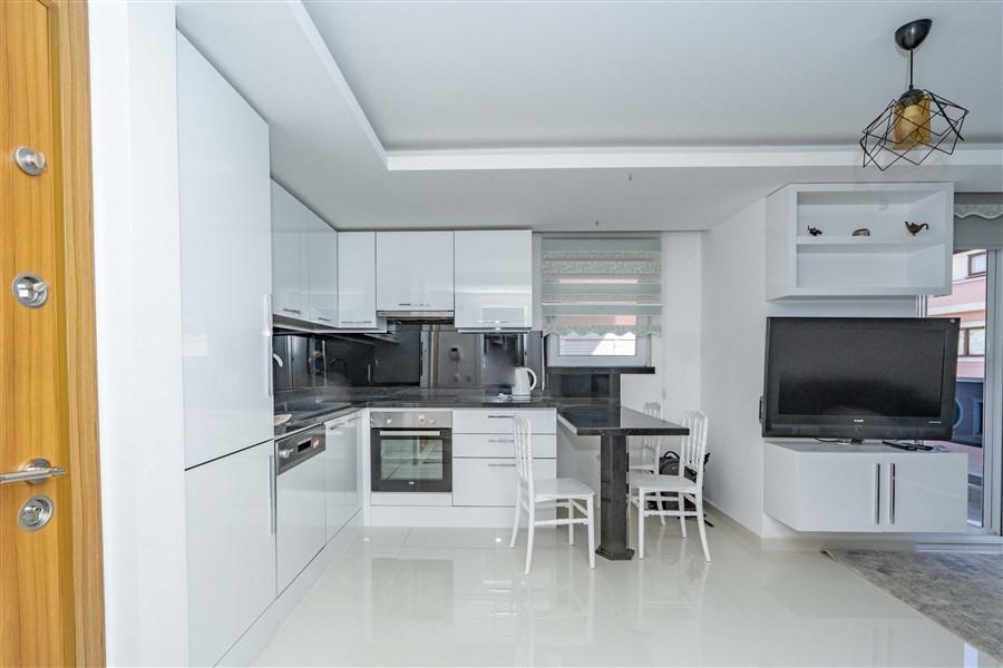 Двухкомнатная квартира в самом центре курортной Аланьи. - Фото 5
