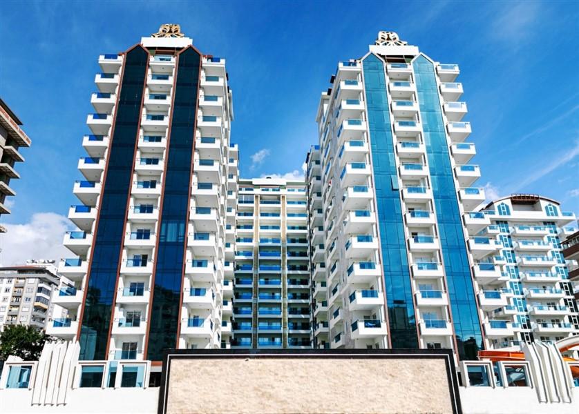 Двухкомнатная квартира в районе Махмутлар