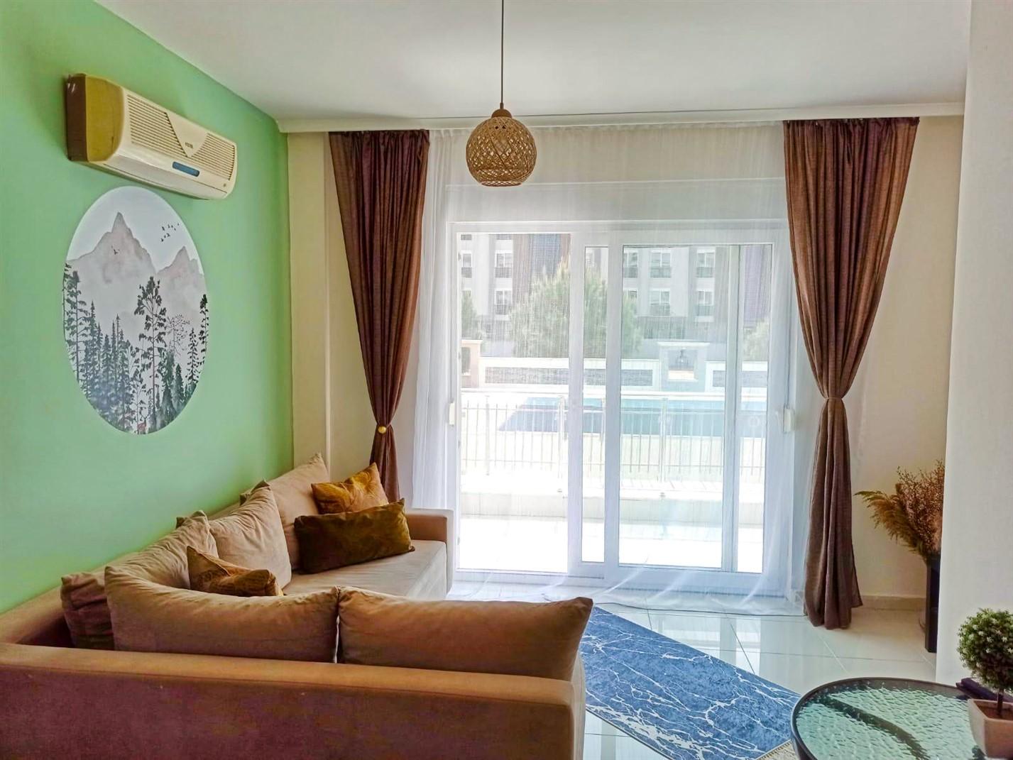 Двухкомнатная квартира в районе Коньяалты - Фото 15