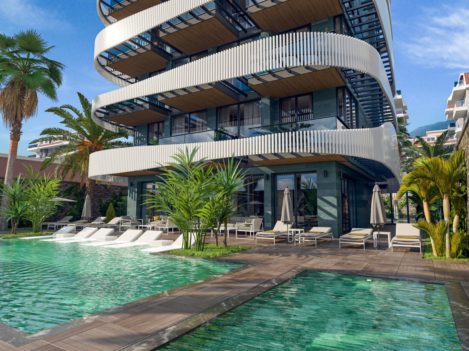 Роскошные квартиры с видом на Средиземное море в элитном районе - Фото 13