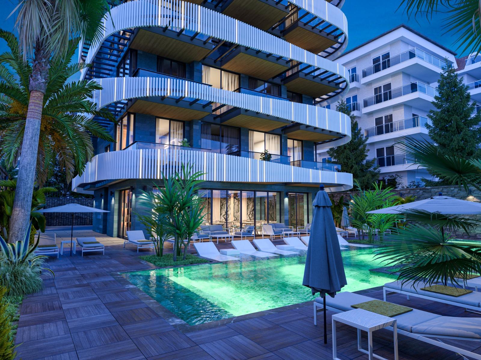 Роскошные квартиры с видом на Средиземное море в элитном районе - Фото 5