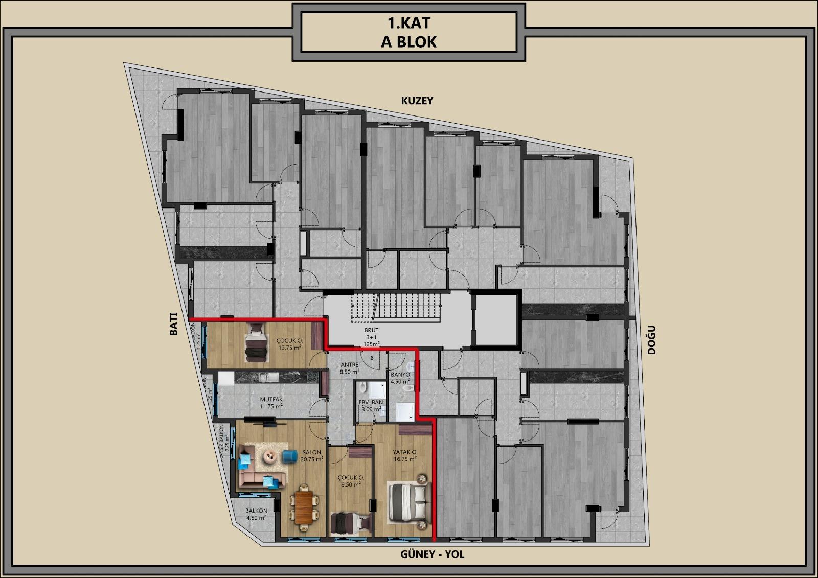 Квартиры от застройщика в центральном районе Антальи - Фото 7