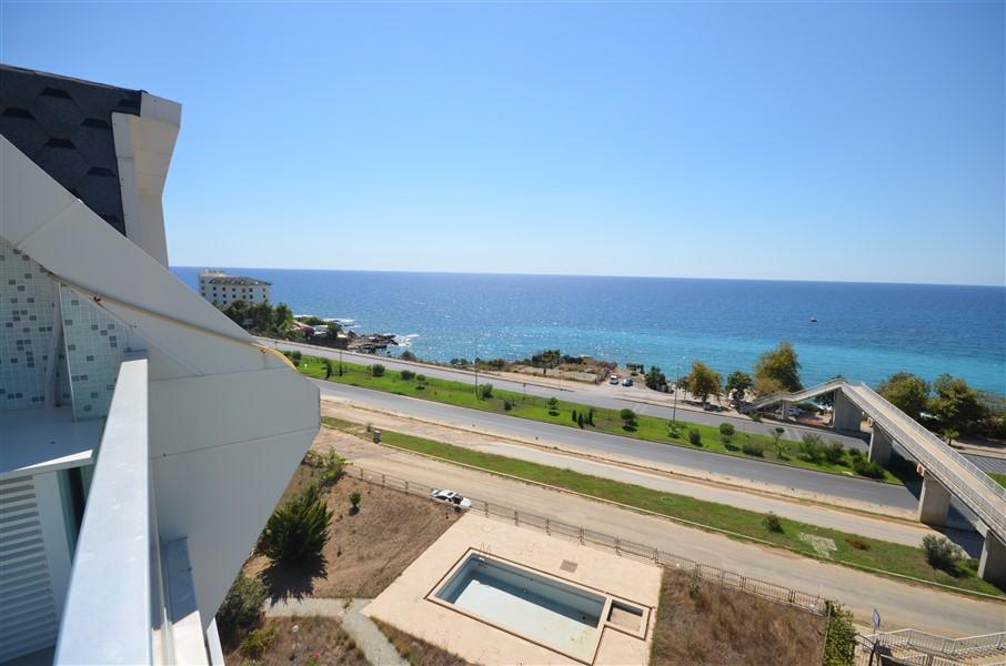 Роскошный двухуровневый пентхаус 3+1 с видом на Средиземное море. - Фото 36