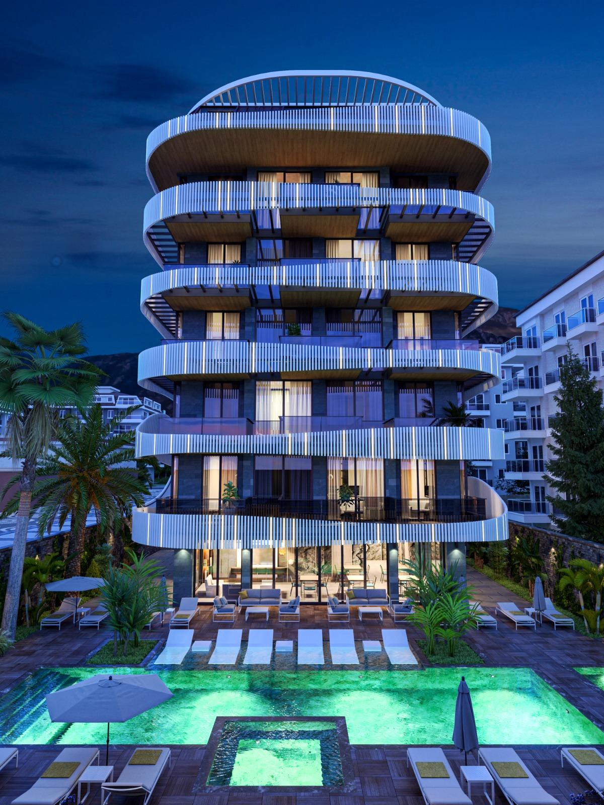 Роскошные квартиры с видом на Средиземное море в элитном районе - Фото 6