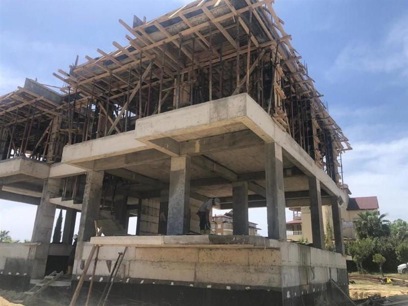 Квартиры в жилом комплексе на этапе строительства в посёлке Авсаллар. - Фото 14