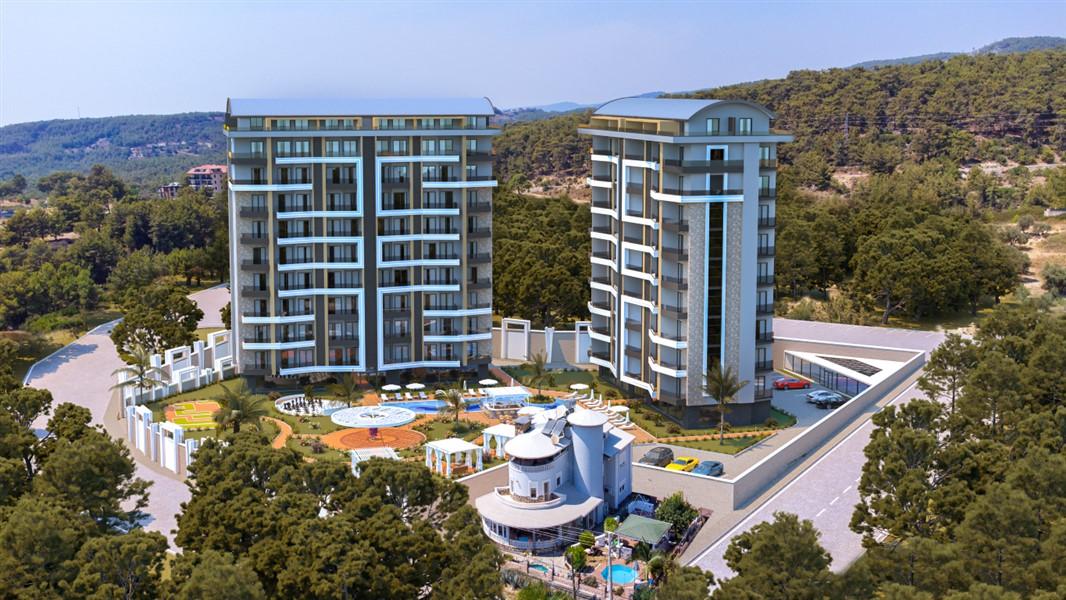 Квартиры с видом на Средиземное море по ценам строительной компании. - Фото 1