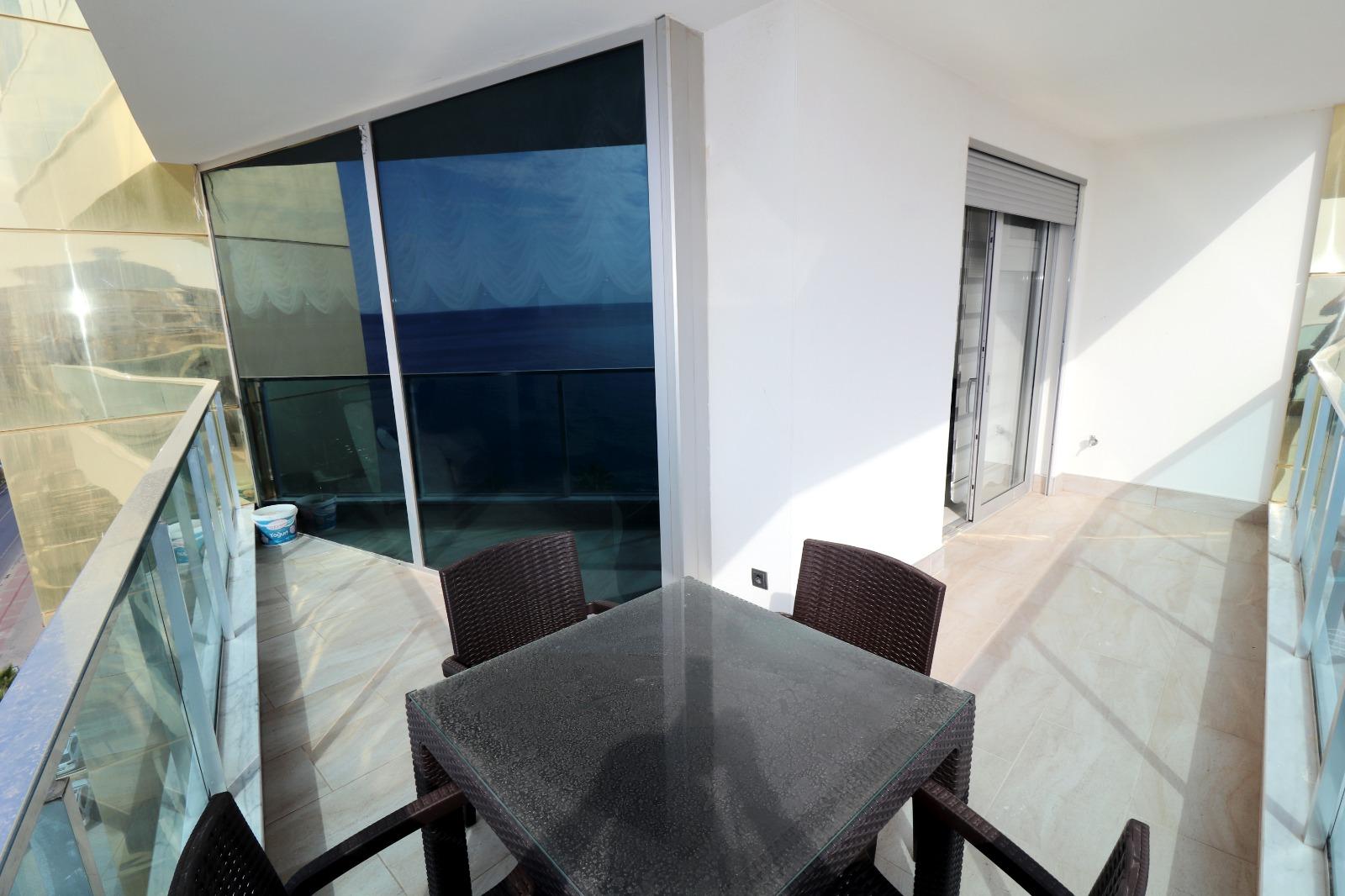 Меблированная квартира 1+1 с панорамным видом на Средиземное море - Фото 16