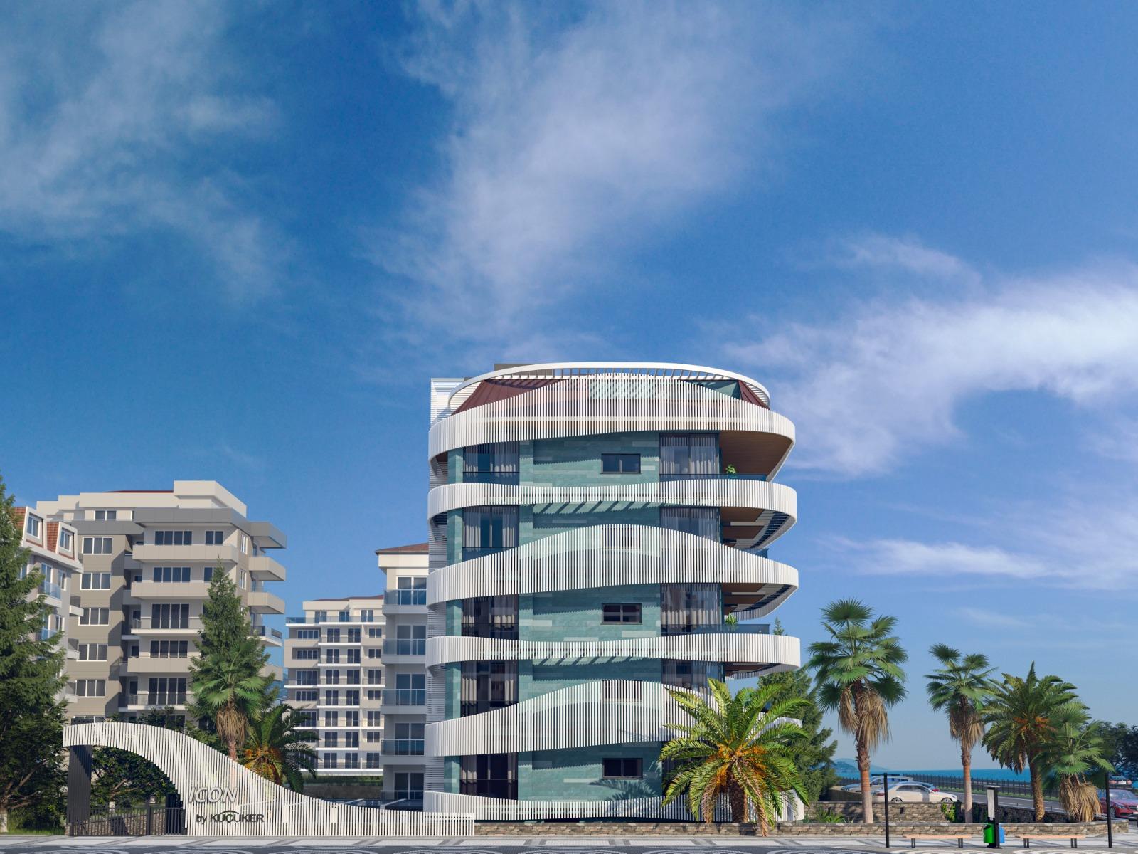 Роскошные квартиры с видом на Средиземное море в элитном районе - Фото 12