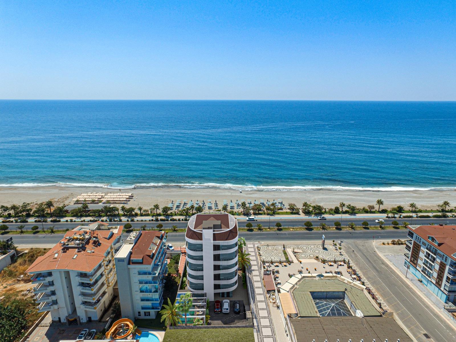 Роскошные квартиры с видом на Средиземное море в элитном районе - Фото 1