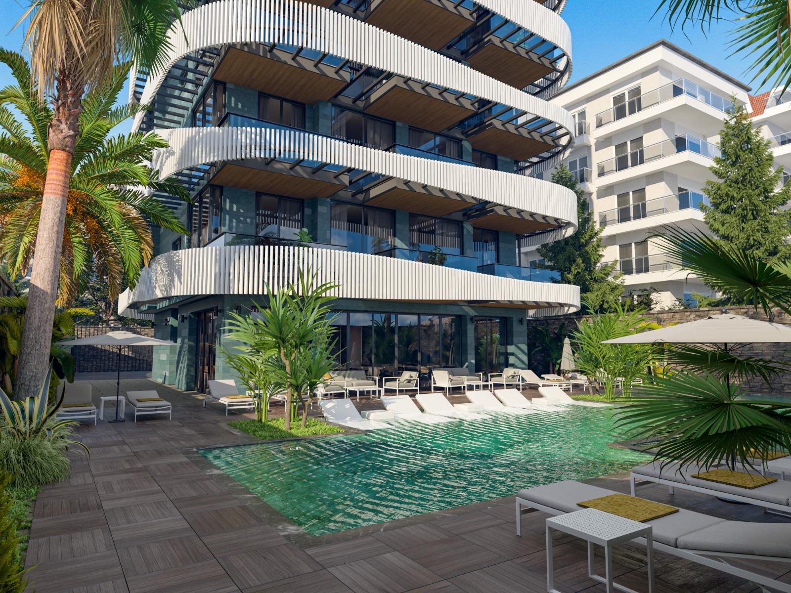 Роскошные квартиры с видом на Средиземное море в элитном районе - Фото 10